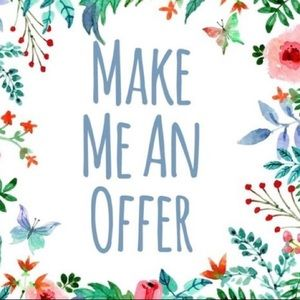 💕 FEEL FREE TO MAKE ME AN OFFER! 💕